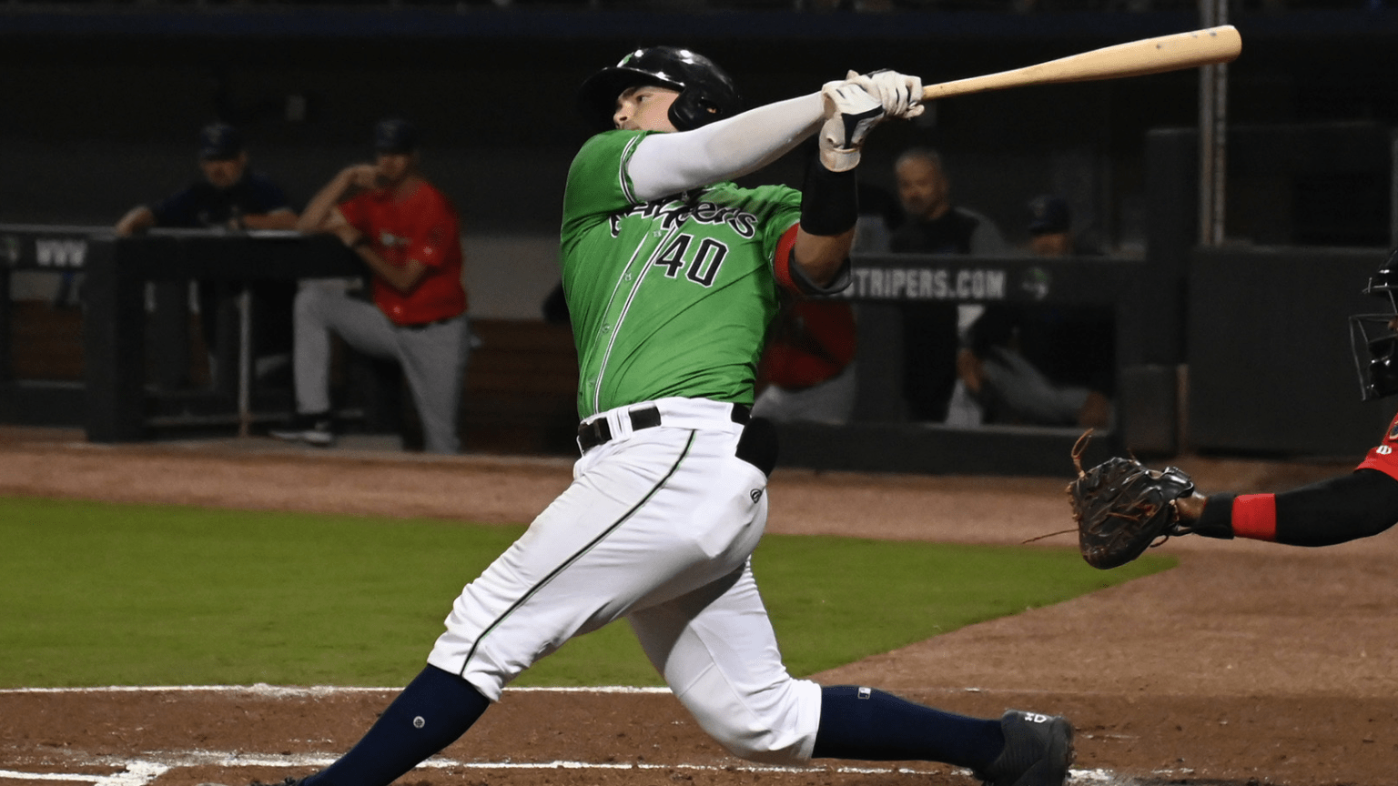 Shea Langeliers doubles twice in Gwinnett's win on Friday; Kyle Wright to start today's game